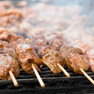 Beef Yakitori.