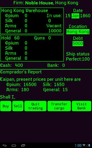 Taipan screenshot 6