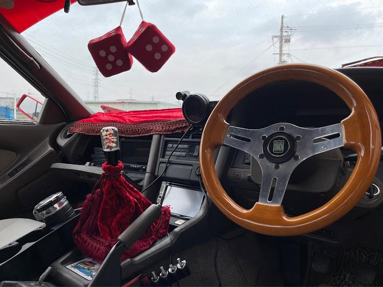 ソアラ GZ20の街道レーサー,改造車,シフトノブ交換,サイコロ,当時物に関するカスタム&メンテナンスの投稿画像2枚目