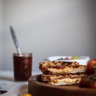 Smoked Gouda & Tomato Sage Jam Grilled Cheese