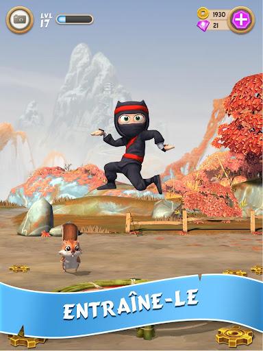 Clumsy Ninja  captures d'u00e9cran 2
