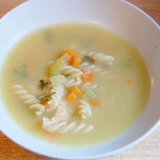 Comforting Chicken Noodle Soup.