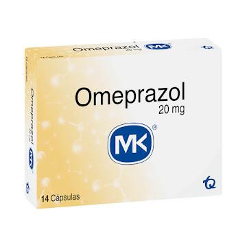 Omeprazol MK 20mg   Cápsulacaja x14Cáp.