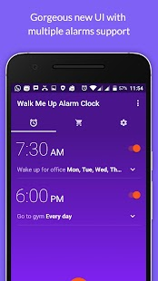 Walk Me Up! Alarm Clock- screenshot thumbnail