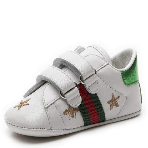 Thumbnail images of Gucci Pre-Walker Trainers