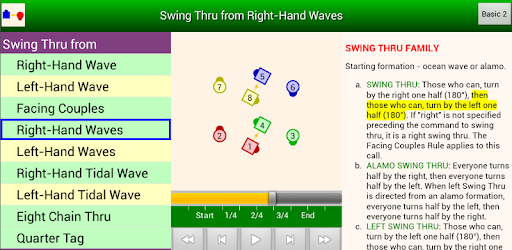 Animations for Square Dance calls