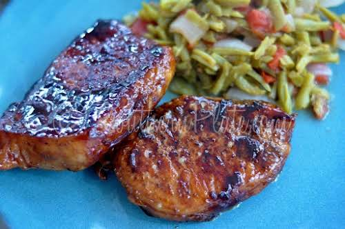"Maple Glazed Pork Chops ""These delicious maple glazed pork chops are so..."