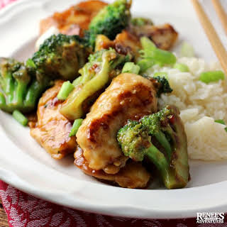 Easy Chicken and Broccoli Stir Fry.
