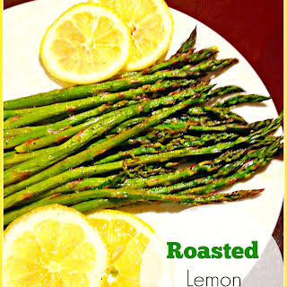 Roasted Lemon Asparagus.