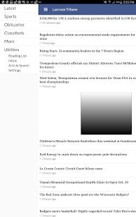 Lacrosse Tribune - náhled