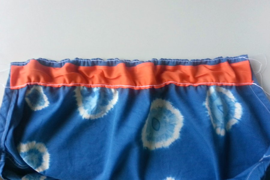 In-Progress: DIY Shibori Dye Skirt - DIY Fashion Garment | fafafoom.com