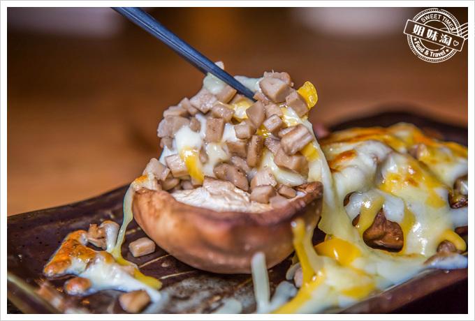 喝郎燒烤起司焗香菇