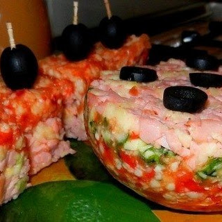 Cheese and Ham Appetizer Recipe
