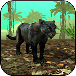 Wild Panther Sim 3D Icon