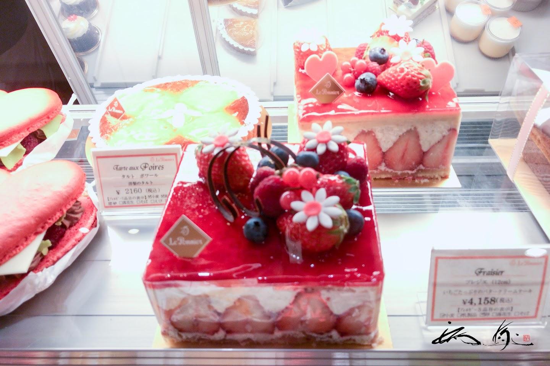 艶やかなホールケーキ「プレジェ」