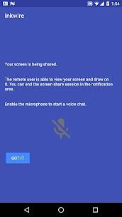 Inkwire Screen Share + Assist Apk Download 4
