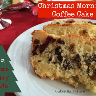 Christmas Morning Coffee Cake (Grain Free, Dairy Free, Nut Free)