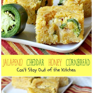 Jalapeno Cheddar Honey Cornbread Recipe