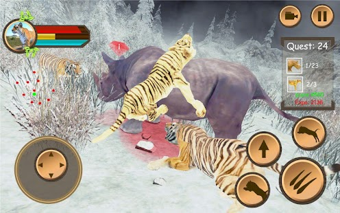 Tiger Family Simulator : RPG Free Game 3D - náhled
