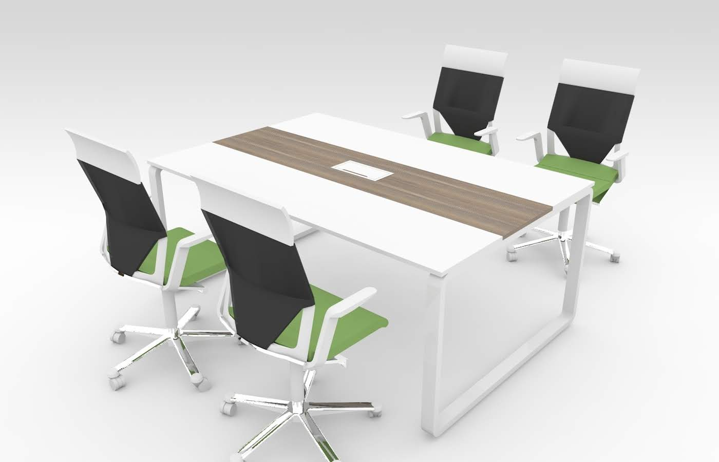 Конференц стол на металлическом каркасе FORTE купить в Киеве