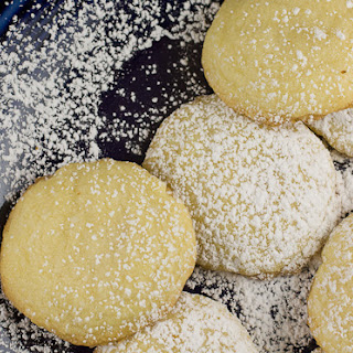 Lemon Tea Cookies.