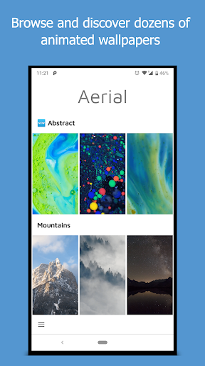 Aerial - Live Wallpapers 1.10.1 screenshots 1