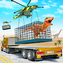 Angry Dino Zoo Transport: Animal Transport Truck icon