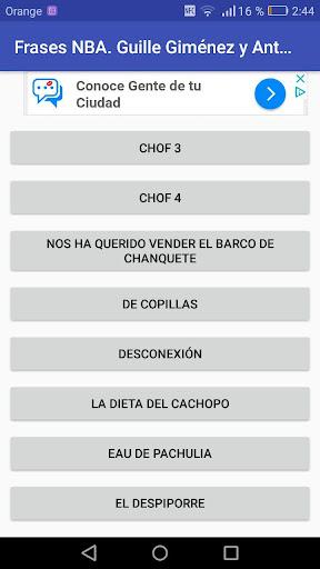 Frases NBA. Guille Giménez y Antoni Daimiel 1.01 screenshots 1