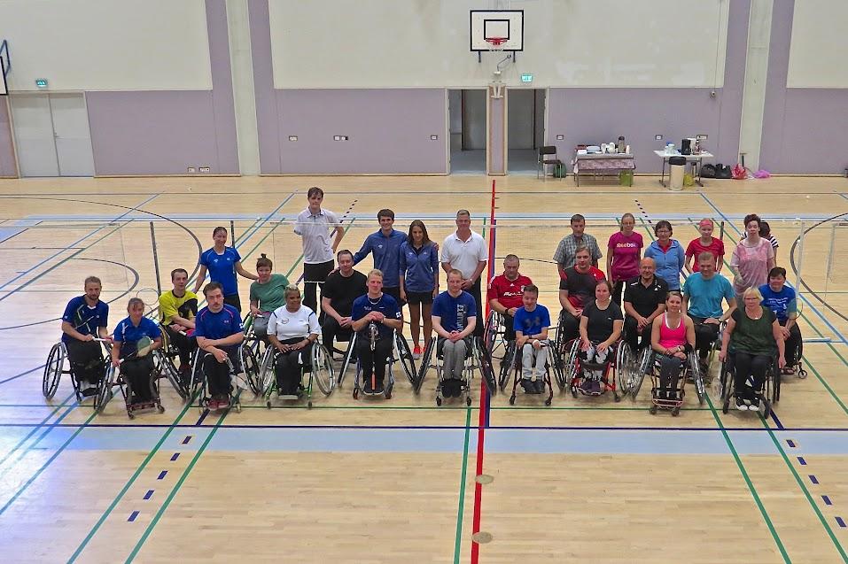 VammaisSulkaPallo tapahtuma Mikkelissä Elokuussa 2017