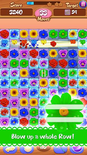 Flower Mania: Match 3 Game apktram screenshots 4