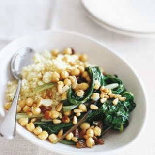 Couscous with Swiss Chard.