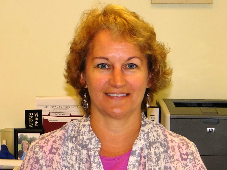Tina Stearns, Administrative Secretary