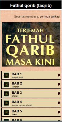 Fathul Qorib (Taqrib) - screenshot