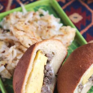 SAUSAGE, EGG & CHEESE KOLACHE Recipe