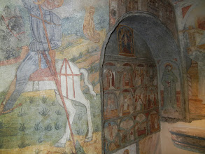 Photo: Fresco inside the tower, Torre del Parco, Lecce