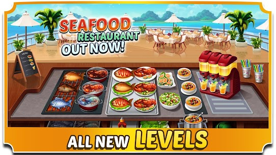 Food Court Fever: Hamburger 3 2.6.2 MOD (Unlimited Coins) 2
