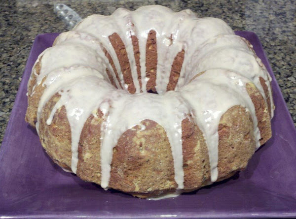 Apple Pine Nut Bundt Cake Recipe
