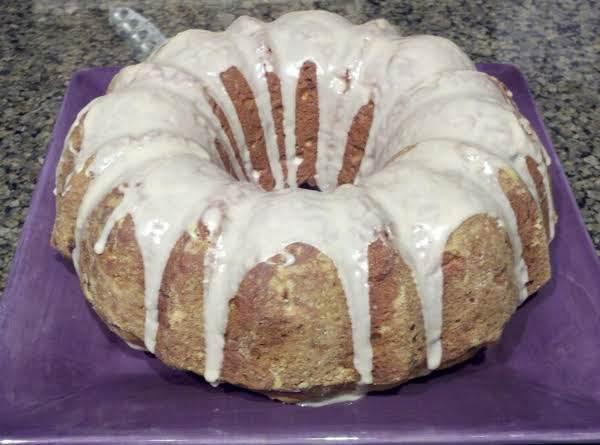 Apple Pine Nut Bundt Cake Recipe