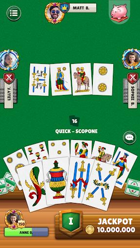 Scopa - Free Italian Card Game Online apkslow screenshots 4