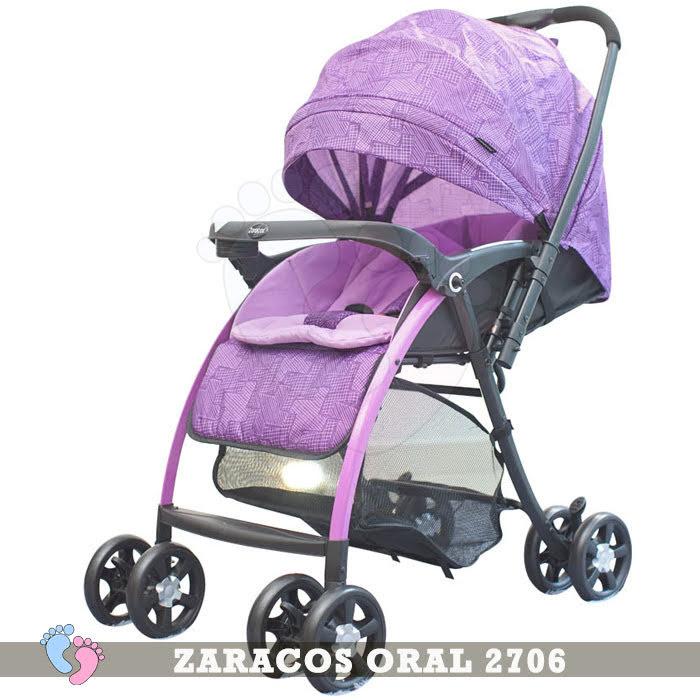 Xe đẩy trẻ em 2 chiều Zaracos Maxell 2606 3