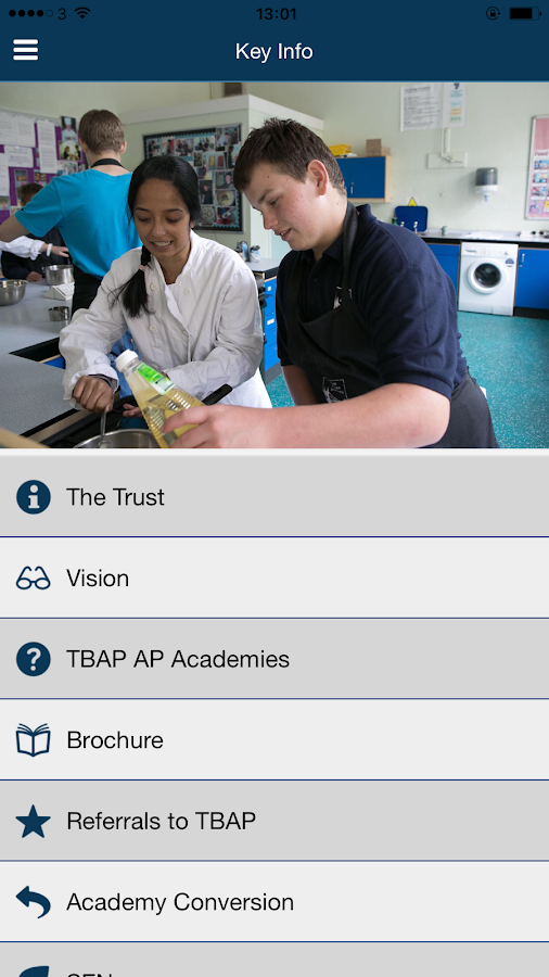 TBAP Multi-Academy Trust- screenshot
