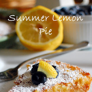 Summer Lemon Pie