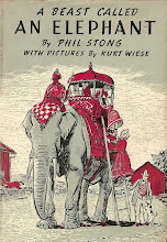 Photo: A Beast Called an Elephant.  Phil Stong (author), Dodd Mead, 1955.