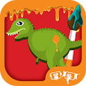 Kids Paint Dinosaurs icon