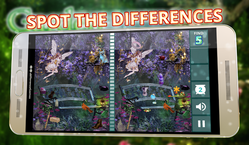 Difference: Garden of Eden