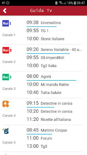 Pocket Italia - Tv 1.0 screenshots 1