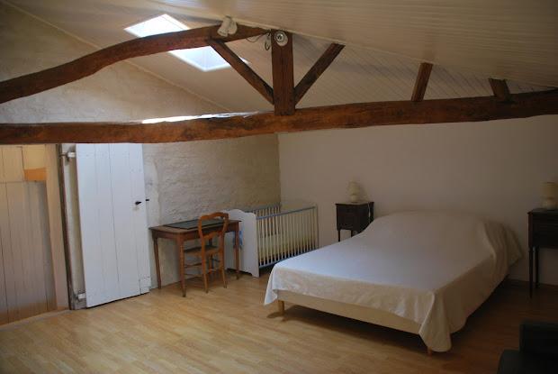 Casa rural de 7 personas con dormitorio matrimonial y cuño cerca de La Rochelle costa atlantica de Francia