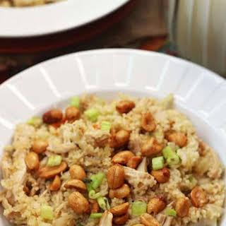 Sesame Chicken & Couscous.