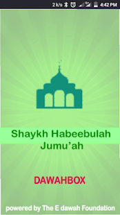 Shaykh Habeebulah Jumu'ah Dawahbox for PC-Windows 7,8,10 and Mac apk screenshot 1