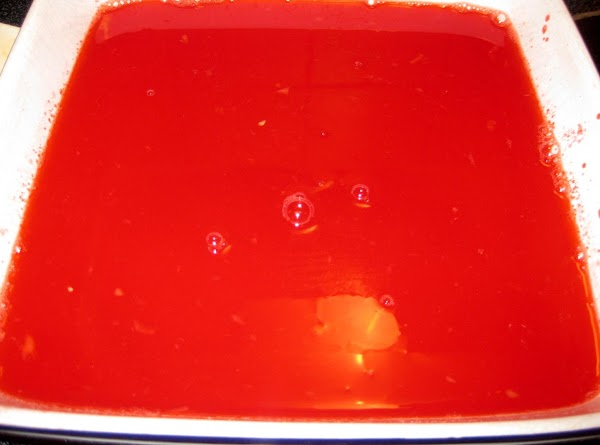 boil the cup of water. Dissolve the jello in the hot water in an...